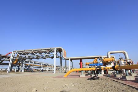 oil field: Oil field scene