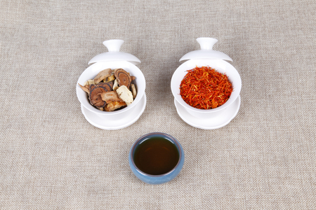 eastern medicine treatment: Traditional Chinese medicine (TCM), close-up