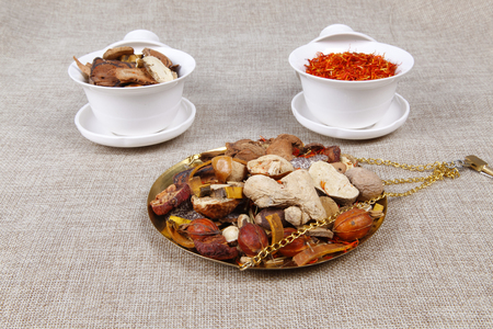 tcm: Traditional Chinese medicine (TCM), close-up