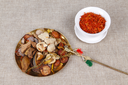 traditional chinese medicine: Traditional Chinese medicine (TCM), close-up