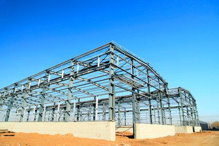 estructura: Estructura de acero