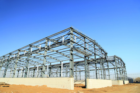 metal structure: Steel frame structure
