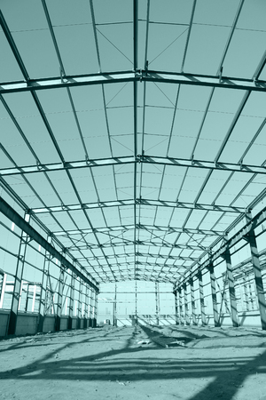 steel structure: Steel frame structure