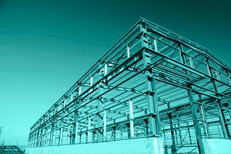 steel frame: Steel frame structure