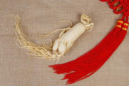 ginseng roots: Ginseng, close-up Stock Photo
