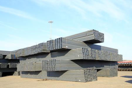 joist: Channel steel Stock Photo