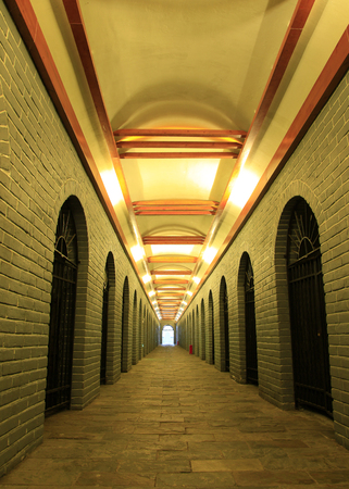 tunnel portals: Corridor underground wine cellar