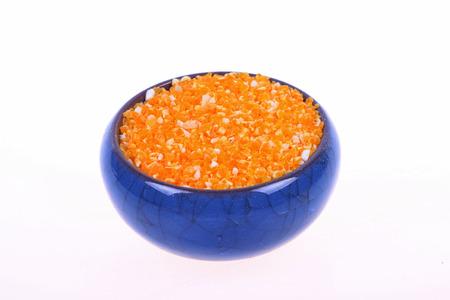 maize: maize meal Stock Photo