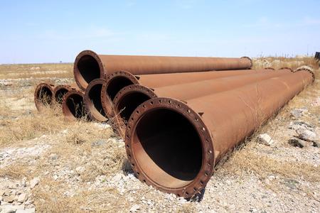 pipework: The rusty iron pipe