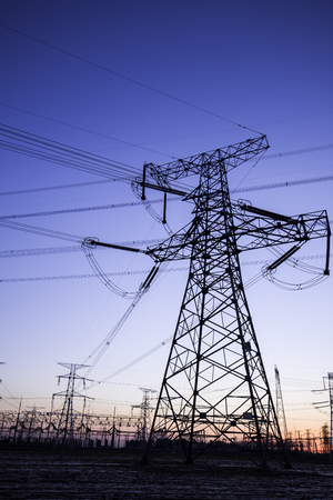 isolator high voltage: pylon