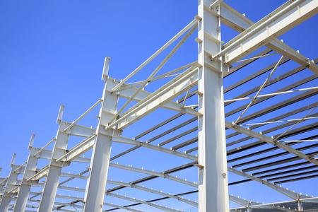 Der Bau von Stahlkonstruktion