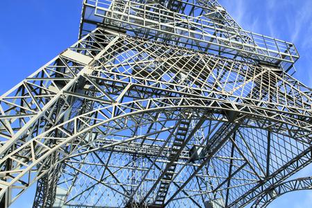 steelwork: steel structure
