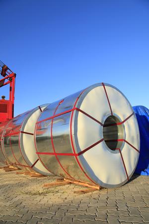 galvanized: roll steel