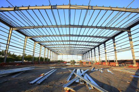 framework: The construction of steel structure
