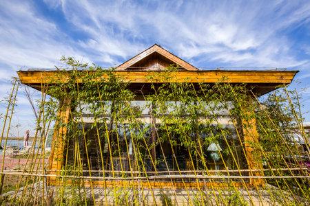 turismo ecologico: casas de madera Editorial