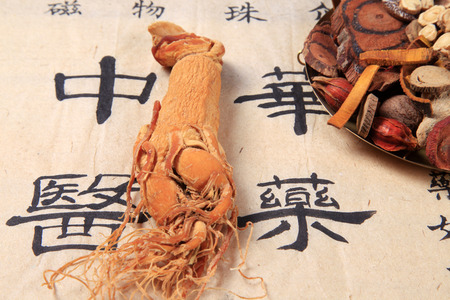 angelica sinensis: Traditional Chinese medicine (TCM) and ginseng