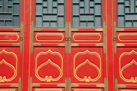 windows and doors: The ancient Chinese building doors and Windows