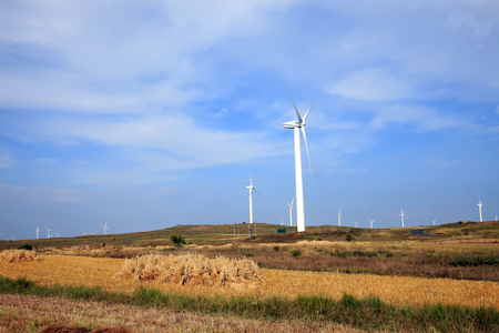 windpower: wind turbines