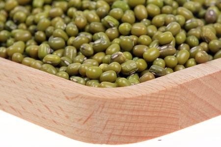 mung beans close up view