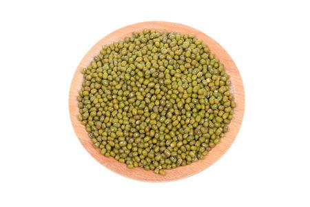 緑豆のクローズ アップ表示