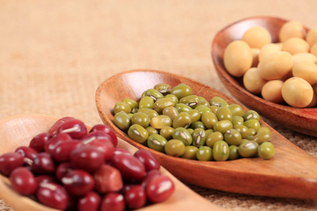 mung: collection of legumes