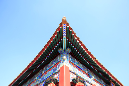 Ancient Chinese architecture eaves