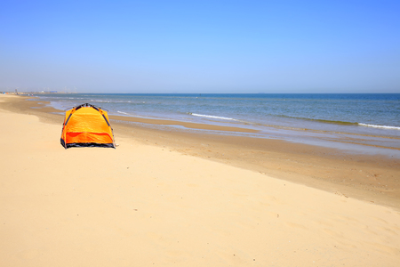 The seaside scenery landscape view