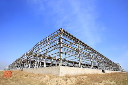 The steel structure landscape view