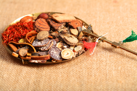 Chinese herbal medicine Imagens