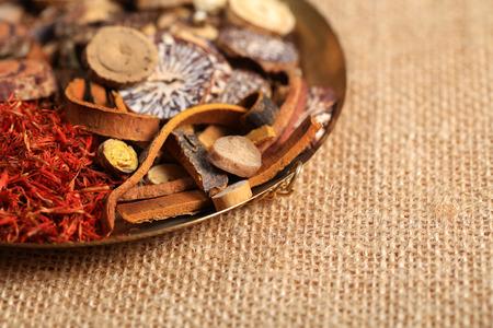 Chinese herbal medicine Foto de archivo
