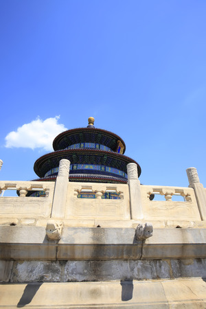 The temple of heaven in Beijing, China Editorial