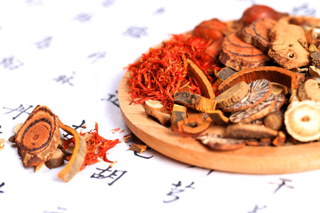 Chinese herbal medicine Archivio Fotografico