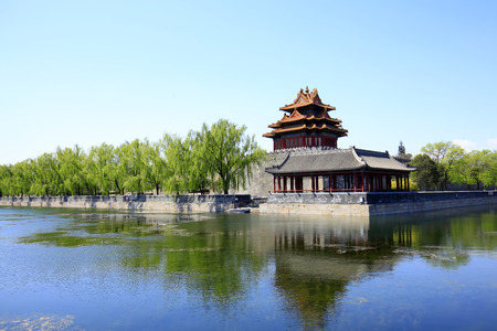 The Forbidden City turrets