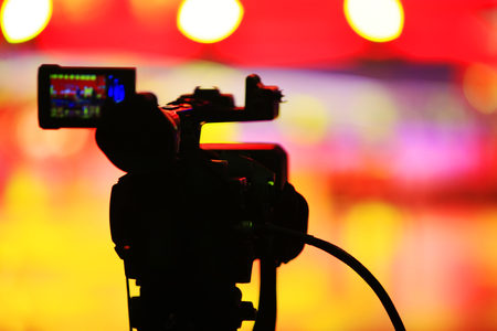 Video recorder, A close-up Stock Photo
