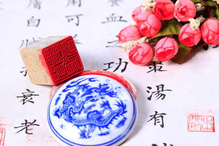 Chinese stone seal-China's traditional arts and crafts