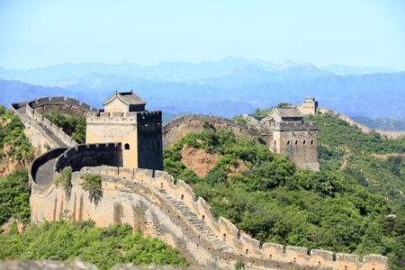 The Great Wall is in China.