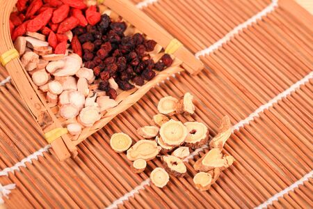 Traditional Chinese medicine, Studio shooting, close-up