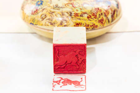 Chinese stone seal, China's traditional arts and crafts