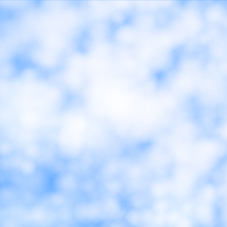 Vector illustration of cirrus clouds.