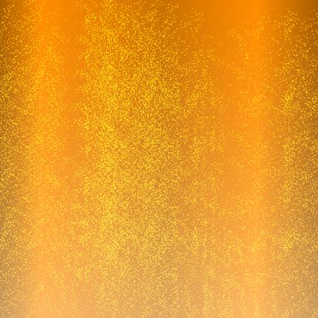 ベクトル イラスト背景オレンジ ジュース、輝く水。  イラスト・ベクター素材