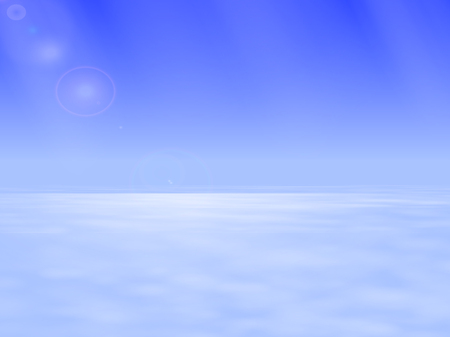 ambiance: Vector illustration of the atmospheric space above the clouds. The boundary between the troposphere and stratosphere. Heavenly landscape.
