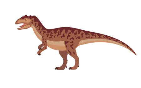 Vector allosaurus dinosaur 向量圖像