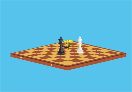 entered: a truce entered in a chess game