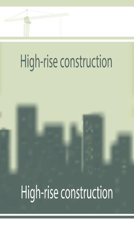 soumis: Illustration, mod�le sur la construction sujet. Illustration