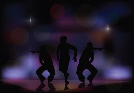 Dansen in een nachtclub.