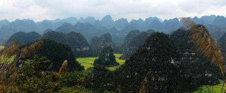 China Guizhou xingyi wanfeng forest Bolivians