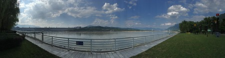 three gorges dam: Three Gorges Dam panorama