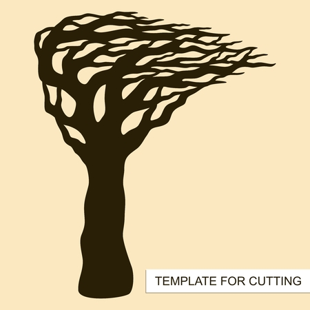 Tree silhouette without leaves template for laser cutting wood tree silhouette without leaves template for laser cutting wood carving paper cut and maxwellsz