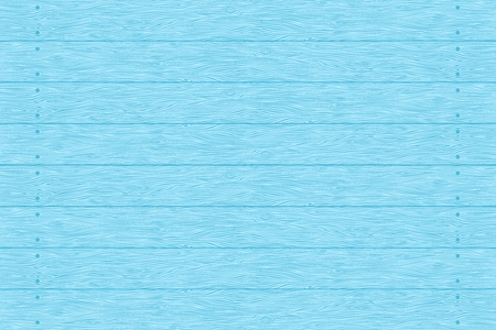 Wood planks texture. Blue color wall. Vector wooden background. Horizontal stripes.