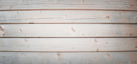 Wooden background. Surface of wooden texture for design and decoration. Horizontal stripes (planks). Grey colour.